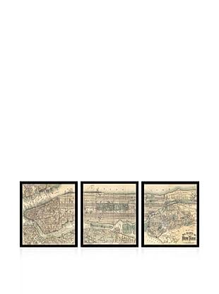 Lillian August Map Of New York City