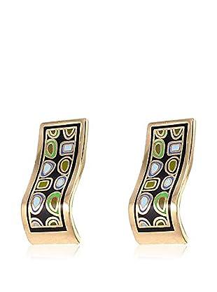 ROSE SALOME JEWELS Ohrringe GE011LR vergoldeter Stahl 18 Karat