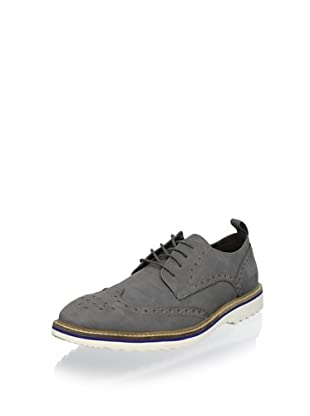 Kenneth Cole REACTION Men's Media Hype Wingtip Oxford (Grey)