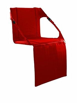 Picnic Time Portable Stadium Seat (Red)