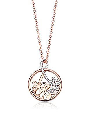 Esprit Set catenina e pendente Bouquet Rose argento 925