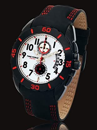 Time Force TF2990M14 - Reloj Caballero quarzo negro
