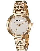 Giordano Analog White Dial Women's Watch - A2037-22