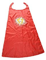 WeGlow International Red Super Hero Capes, Large (2 Capes)