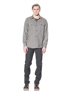 Steven Alan Men's CPO Shirt Jacket (Green)