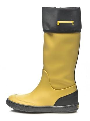 Pirelli Botas Zip Niños (amarillo)