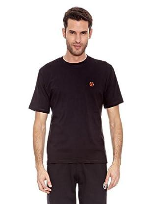 Sergio Tacchini Camiseta Manga Corta Daiocco Camiseta Manga Corta Daiocco (Negro)