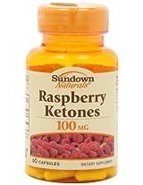 Sundown Naturals Raspberry Ketones Capsules, 60 Count