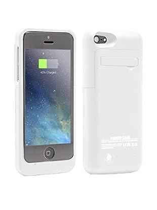 Unotec Funda Con Bateria Para Iphone5/5S/5C Powercase Blanca