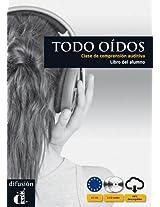 Todos Oidos: Libro Del Alumno + CD (Levels A1 and A2)