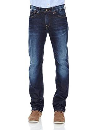 Pepe Jeans London Vaquero Heston Zip (Azul Medio)