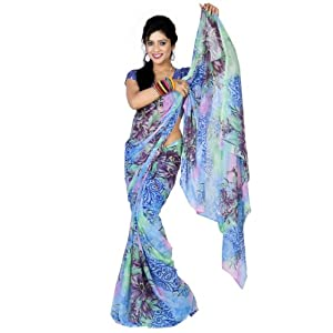 Unique Georgette Saree For Women