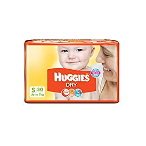 Huggies Dry Diapers Small Size (30 Count)