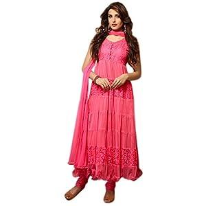 Latest Light Pink Anarkali Suit