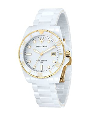 Swiss Eagle Reloj Dive Blanco
