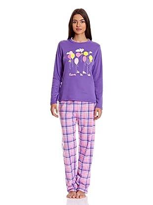Tress Pijama Señora (Malva)