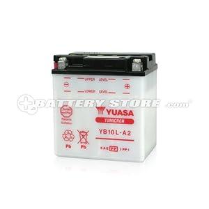 YUASA /  YB10L-A2 (YB10L-A2, 12N10-3A-2, GM10Z-3A, FB10L-A2互換) バイク用バッテリー 開放型