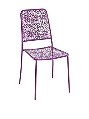 Contemporary Home Set Silla 4 Uds. Capri Morado