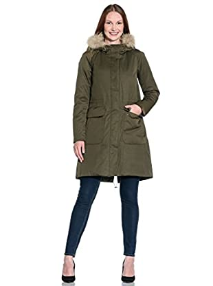 ADD Plumas Largo Down Hooded Parka Detachable Fur Border