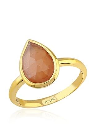 Melin Paris Anillo Piedra Luna (Dorado)
