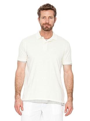 Cortefiel Polo Básico (Blanco Perla)