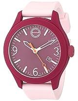 Esq Movado Esq Movado Unisex 07101440 One Analog Display Swiss Quartz Pink Watch - 7101440