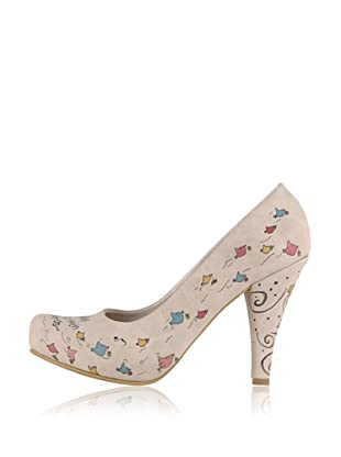Dogo High Heel Birds (Creme)