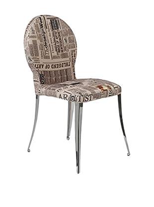 Eurostyle Farid Side Chair, Safron