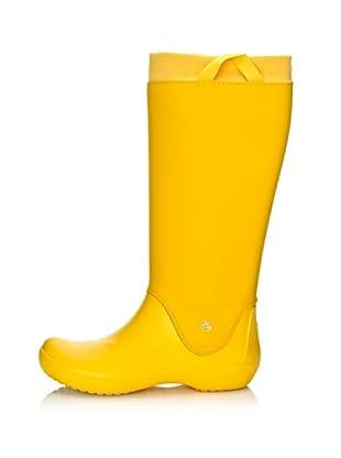 Crocs Botas Rainfloe Waterproof (Amarillo)