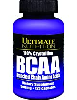 ULTIMATE NUTRITION BCAA 500 MG 120 CAPSULES (120 CAPSULES)