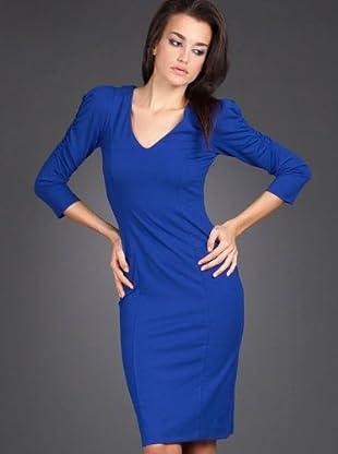 Naf Naf Vestido (azul eléctrico)