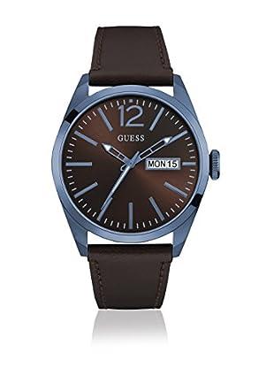 Guess Uhr mit japanischem Mechanikuhrwerk Man Vertigo Silver Tone silberfarben 45 mm