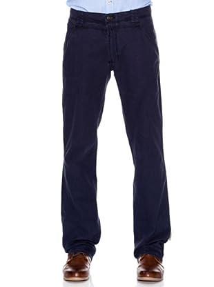 Springfield Pantalón Algodón Cargo (azul marino)