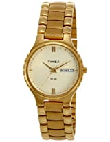 Timex Classics Analog Gold Dial Men's Watch - C901