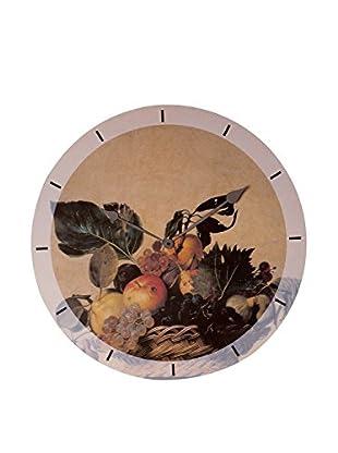 Artopweb Reloj De Pared Caravaggio Fruit