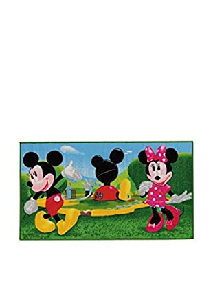 Disney Teppich Mickey Mouse Clubhouse grün/himmelblau 80 x 140 cm