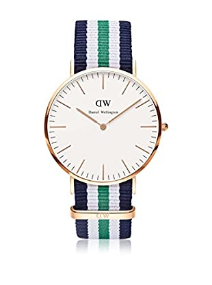 Daniel Wellington Reloj con movimiento cuarzo japonés Man Classic Nottingham 40 mm