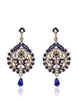 Blue Danglers & Drop NIKI Jewels