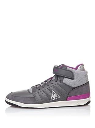 Le Coq Sportif High Top Sneaker Retro Sport Diamond Lea (Grau)