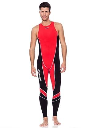 Mosconi Bañador Meerval Lon (rojo / negro)
