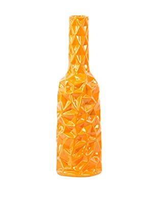 Ceramic Vase, Large, Orange