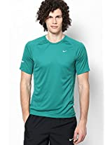 Green Round Neck T-Shirts