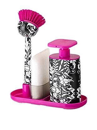 VIGAR Kit de Accesorios de Limpieza 4 Piezas Pink Rococco