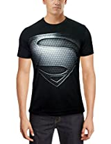 Free Authority Mens Cotton Character T-Shirt-Black-Medium
