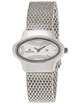 Maxima Attivo Analog Silver Dial Women's Watch - 26441CMLI