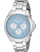 Fossil  Analog Blue Dial Women Watch  - AM4547