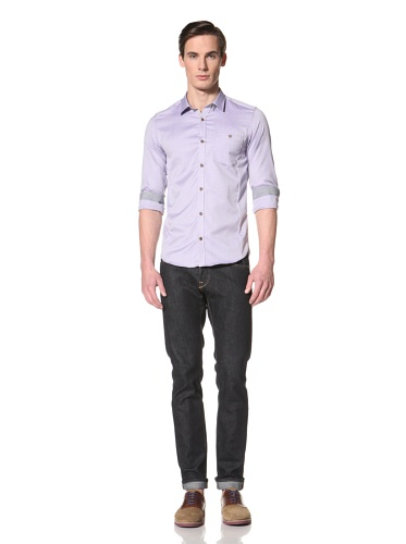 Ted Baker Men's Kirvati Button-Up Shirt (Purple)