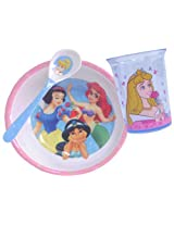 Disney Princess Collection Breakfast Set Bowl Tumbler and Spoon