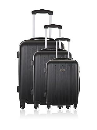 Travel One Set de 3 trolleys rígidos Korba