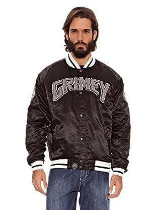Grimey Wear Chaqueta Satinada Grimey (Negro)